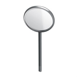 Mouth Mirrors, Plain Non-grossissant Plan, 22 mm