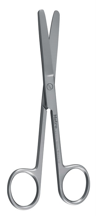 Operating Scissors, B/B, 14.5 cm, 53/4