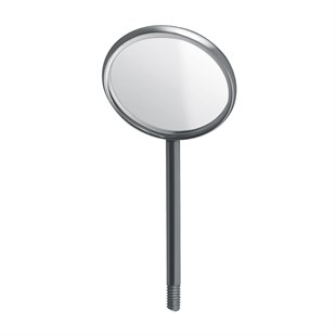 Mouth Mirrors, Plain Simple Stem, 22 mm